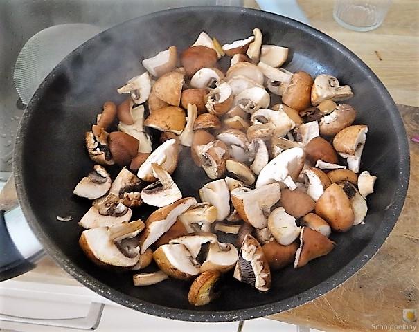 Kartoffel Zoodles und Shiitake-Champignon Pfanne (19)