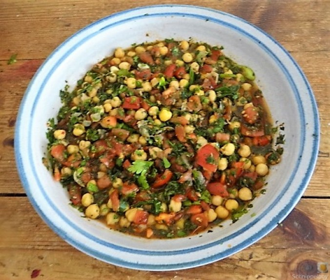 Kichererbsensalat mit Guacamole (19)