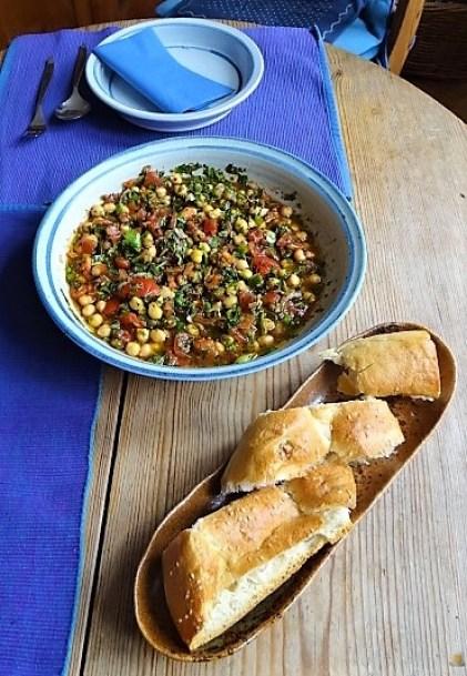 Kichererbsensalat mit Guacamole (6)