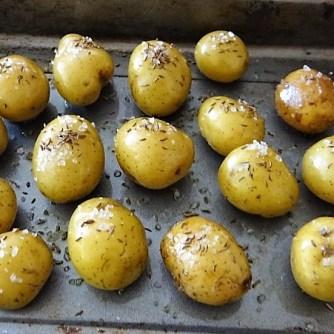 Ofenkartoffel mit Kohlrabi und Radieschensalat (9)