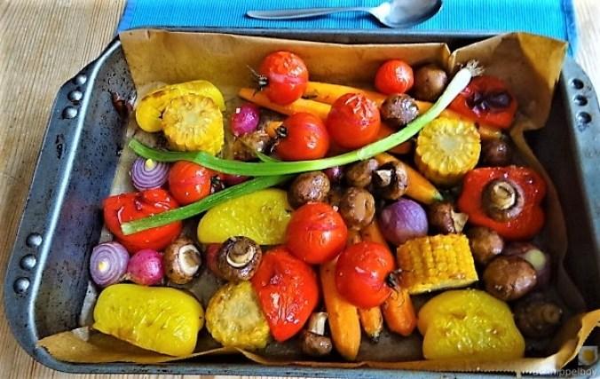 Polenta mit Ofengemüse (2)