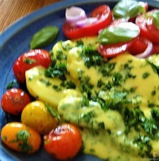 Béchamelkartoffeln und Tomaten (3)
