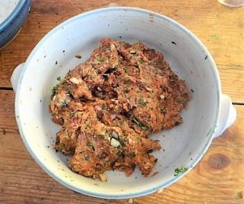 Bifteki mit Pimientos und Reis (10)