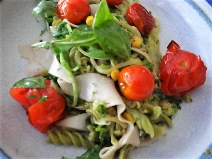 Buchweizenpasta mit verschiedenen Gemüsen (3)