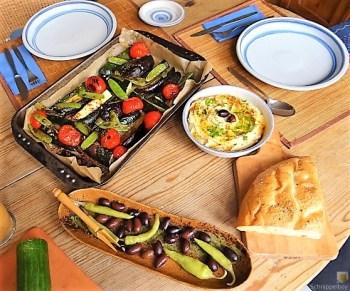Hummus und Ofengemüse (15)