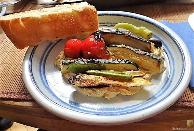 Hummus und Ofengemüse (20)