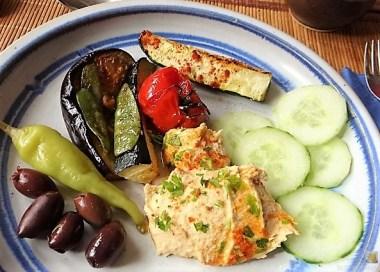 Hummus und Ofengemüse (21)