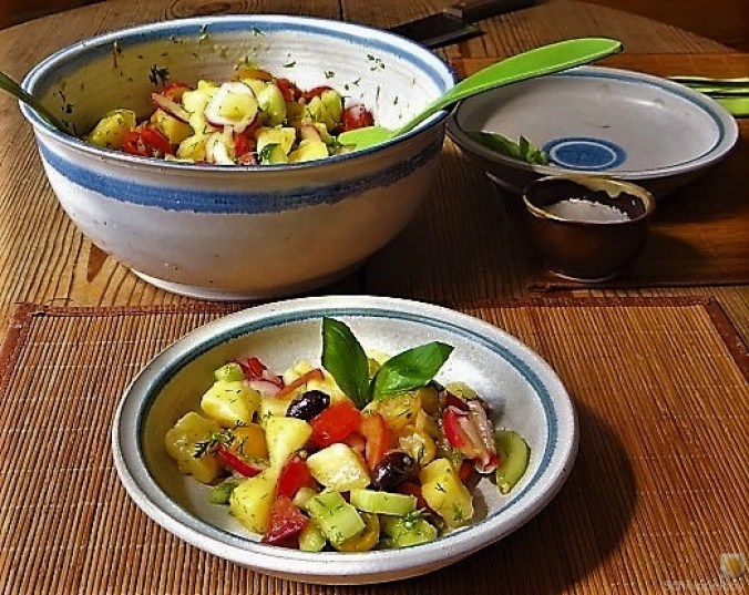 Mediterraner Kartoffelsalat (17)