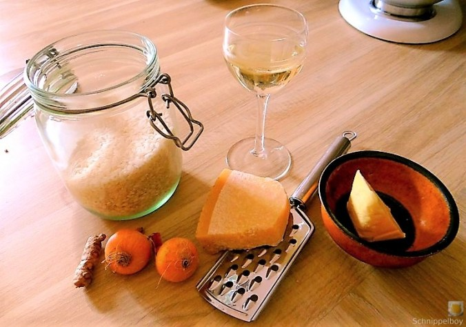 Muschel Risotto mit Zitrone (5)
