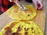 Champignon,Lauch, Kürbis und Eierpfannkuchen (21)