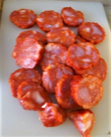 Chorizo, Spinat-Tomaten, Pasta (11)