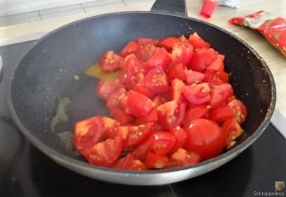 Chorizo, Spinat-Tomaten, Pasta (18)