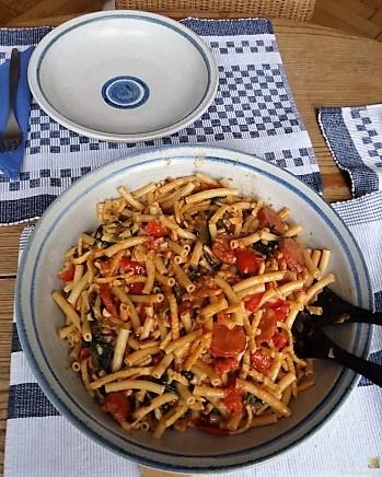 Chorizo, Spinat-Tomaten, Pasta (33)