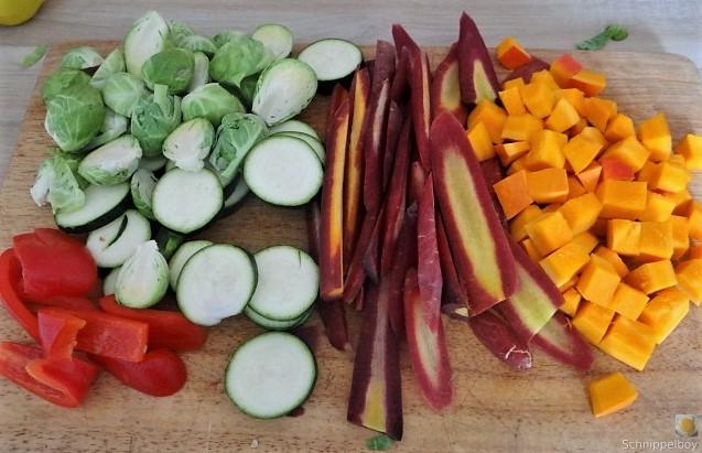 Kartoffel Zoodles mit Gemüse und Lachsforelle (13)
