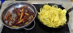 Kartoffel Zoodles mit Gemüse und Lachsforelle (19)