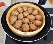 Bulgur-Hack Klößchen, Spitzkohl Salat, Tzatziki, Apfel Crumble (14)