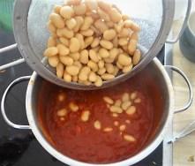 Köfte,Tomaten-Bohnensalat (12)