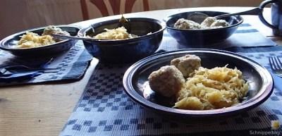 Schinkenknödel mit Sauerkraut (17)