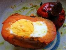 Spinat mit Kürbis und Ei (40)
