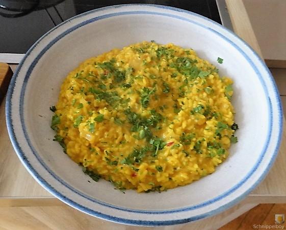 Zitronen Risotto mit Hähnchenbrust (18)