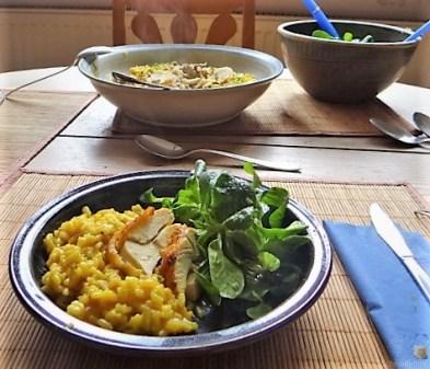 Zitronen Risotto mit Hähnchenbrust (22)