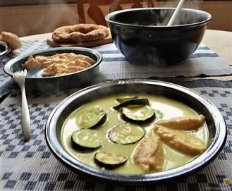 Zucchini in Zitronensauce mit Ricottanocken (19)