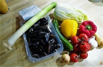 Gemüse, Meeresfrüchte, Nudeln (8)