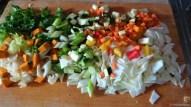 Gemüsesuppe leicht orientalisch gewürzt (10)