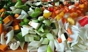 Gemüsesuppe leicht orientalisch gewürzt (11)