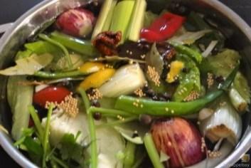 Gemüsesuppe leicht orientalisch gewürzt (15)
