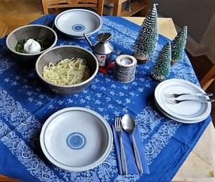 Selbstgemachte Nudeln, Spinat und Burrata (24)