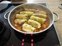 Spitzkohlröllchen orientalisch mit Ingwer-Orangen Sauce (21)
