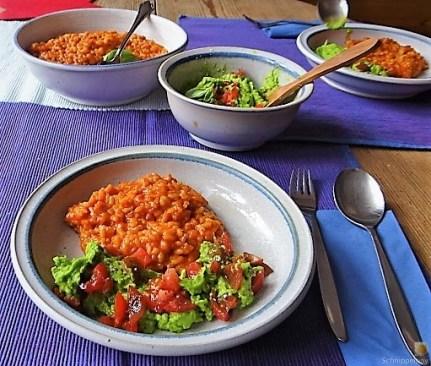 Tomatenrisotto mit Guacamole (15)