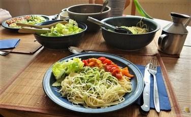 Ratatouille mit Zucchini Zoodles und Spaghetti (16)