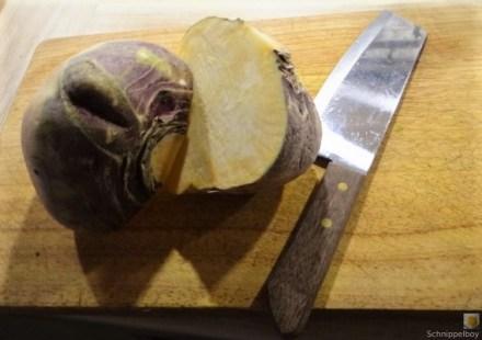 Steckrüben Eintopf und Obstsalat (11)