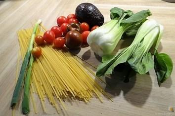 Spaghetti-Avocado mit Pak Choi (9)