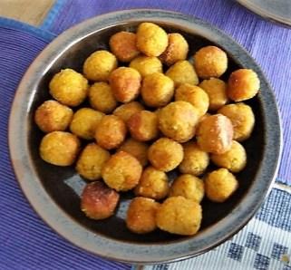 Bulgurklößchen mit Joghurt-Spinat (13)