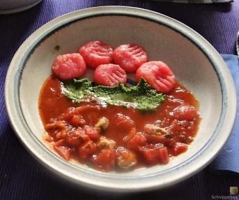 Gnocchis mit Tomatensauce und Muscheln (27)