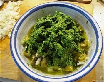 Linguine mit Oliven-Petersilien-Salsa (12)