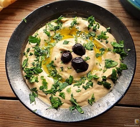 Baba Ganoush und Salat (17)