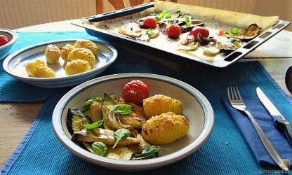 Ofengemüse und Fächerkartoffeln (21)