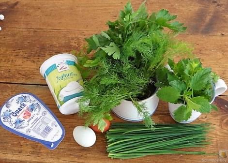 Grüne Soße mit den ersten neuen Kartoffeln (8)