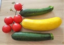 Zucchinipfanne und Hähnchenbrust (9)