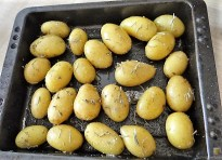 Lachsforelle, Rosmarinkartoffeln, Pak Choi (9)