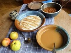 Reisbrei in Kokosmilch mit Apfelkompott-Mus (12)
