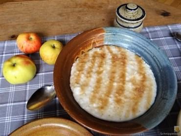 Reisbrei in Kokosmilch mit Apfelkompott-Mus (15)