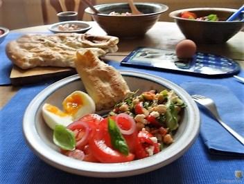 Kichererbsen-Tomatensalat (15)