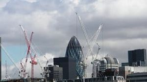 Quickie: London, bristling with infrastructure projects