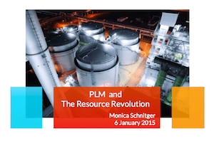 PLM, the Resource Revolution and you (yes, you)