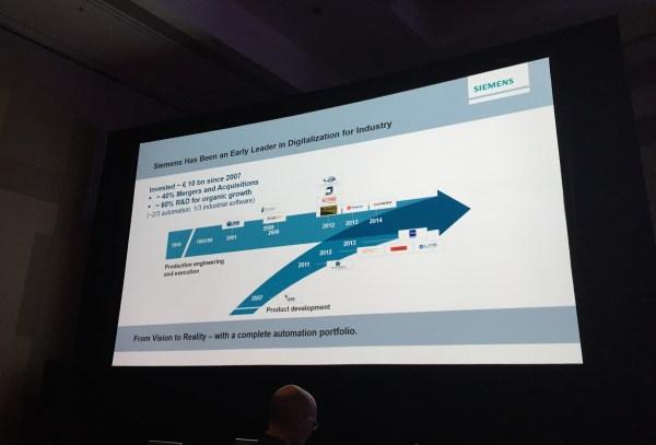 Siemens Automation Summit: Big data is a big goal